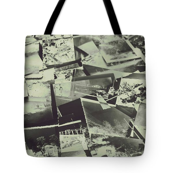 Negative Film Photo Background Tote Bag