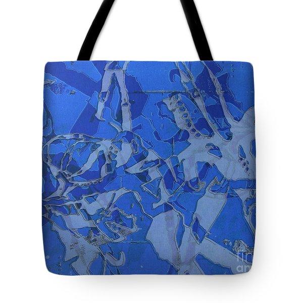 Negative Photo Silkscreen Tote Bag