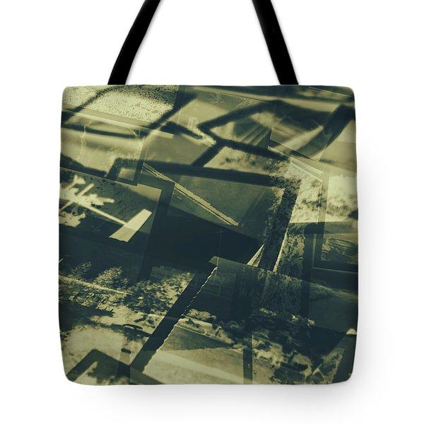 Negative Photos In Dark Room Tote Bag