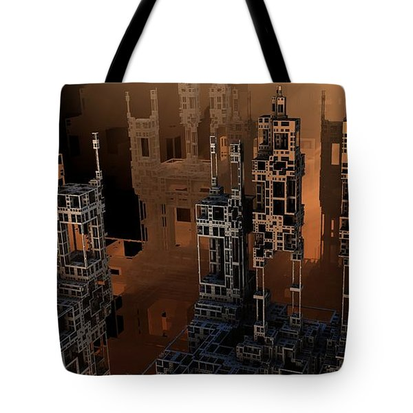 Negative Shadows Tote Bag