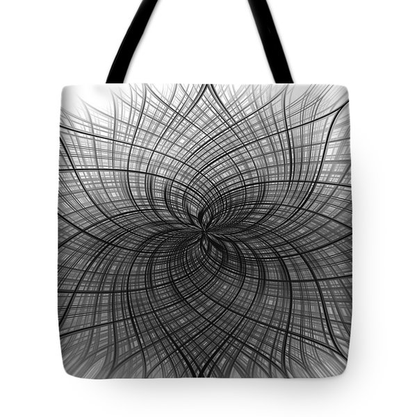 Negativity Tote Bag by Carolyn Marshall