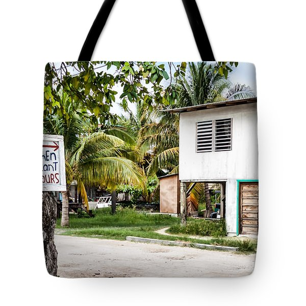 Neglected In Paradise Tote Bag