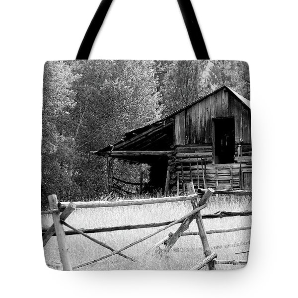 Tote Bag featuring the photograph Neglected by T A Davies