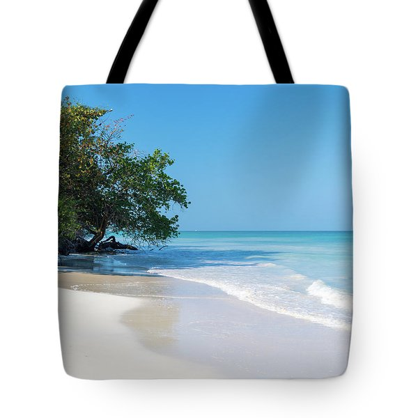 Negril Beach Morning Tote Bag