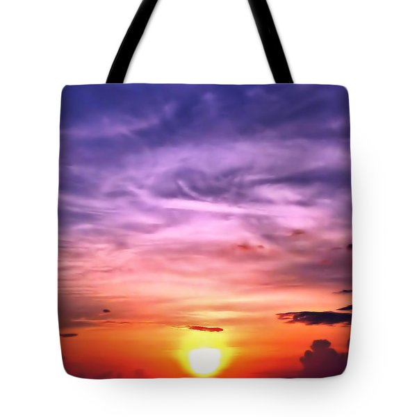 Negril Sunset Tote Bag
