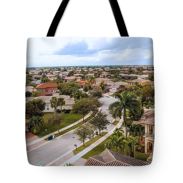 Neighborhood Aerial Tote Bag