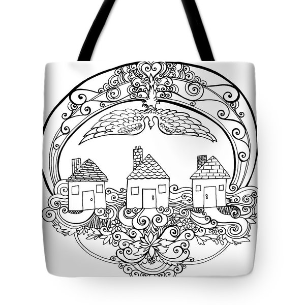 Neighbourhood Blessing Tote Bag