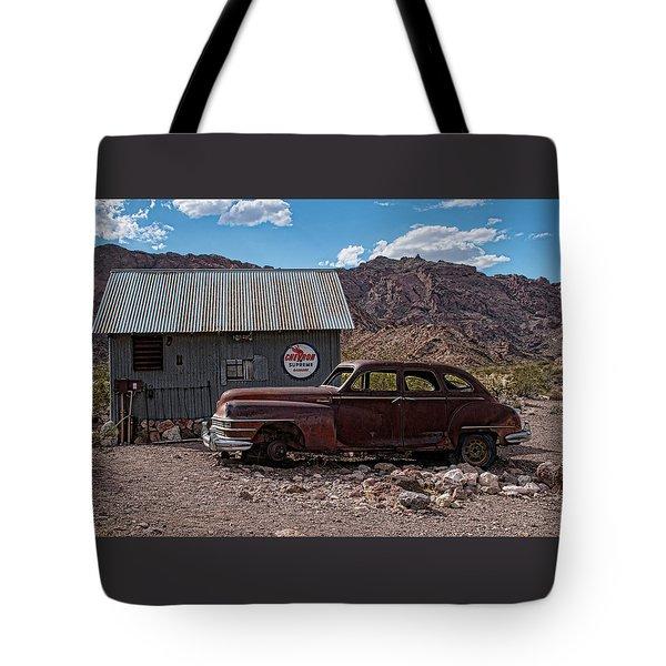 Nelson Chrysler  Tote Bag