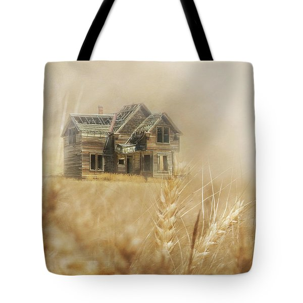 Tote Bag featuring the photograph Nelson Homestead 2 by Angie Vogel