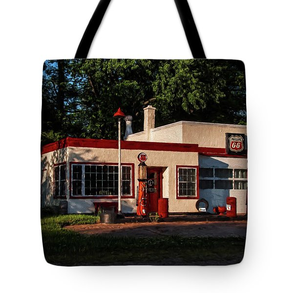 Nelsonville Phillips 66 Tote Bag by Trey Foerster
