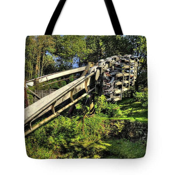 Nemesis In Autumn Tote Bag by Rob Hawkins