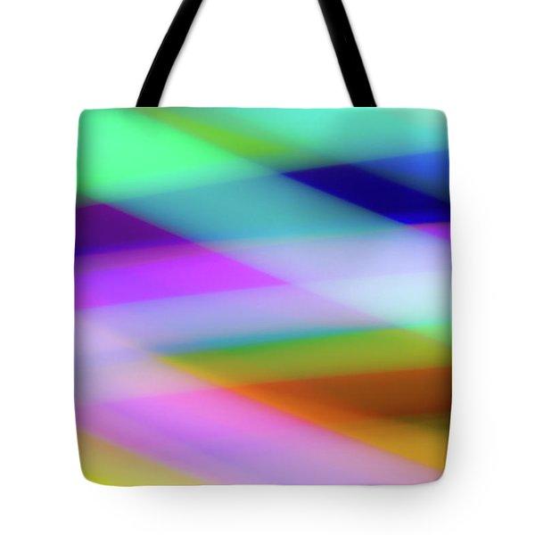 Neon Crossing Tote Bag