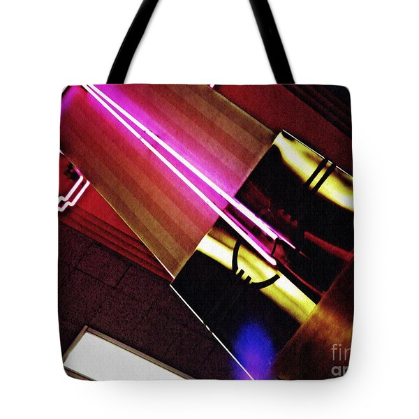 Neon Design Tote Bag