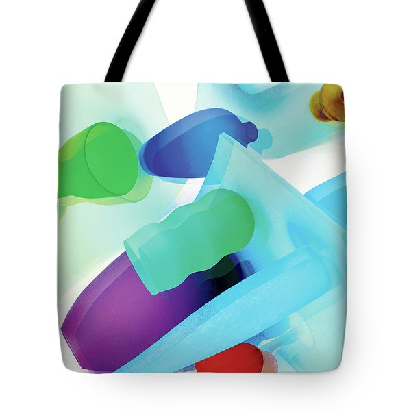 Neon In Sunlight Tote Bag