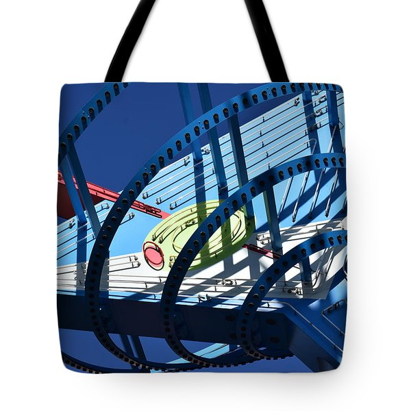 Neon Martini. Tote Bag