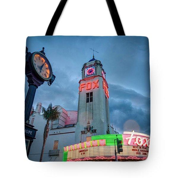 Neon Sign Rip Merle Haggard Tote Bag