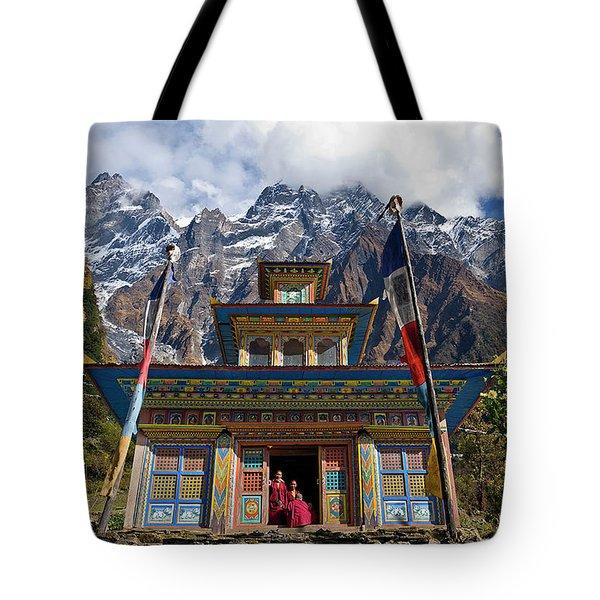 Nepal_d1062 Tote Bag