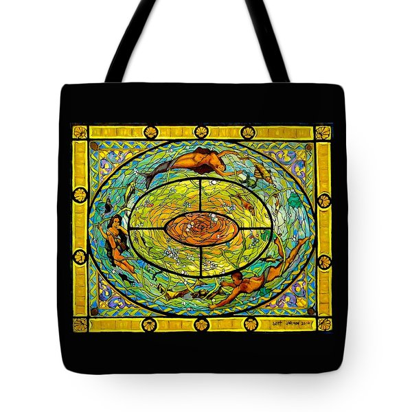 Neptune's Daughter Tote Bag