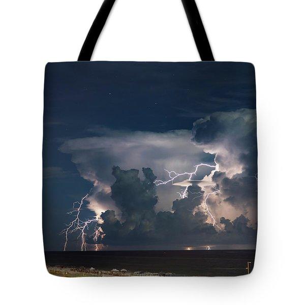 Neptune's Fury Tote Bag