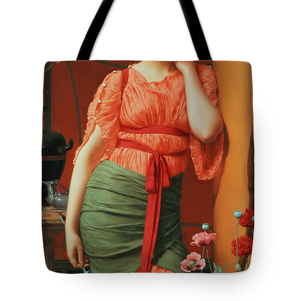 Nerissa Tote Bag by John William Godward
