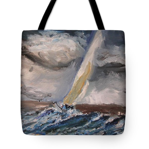 Nerves Of Steel Tote Bag