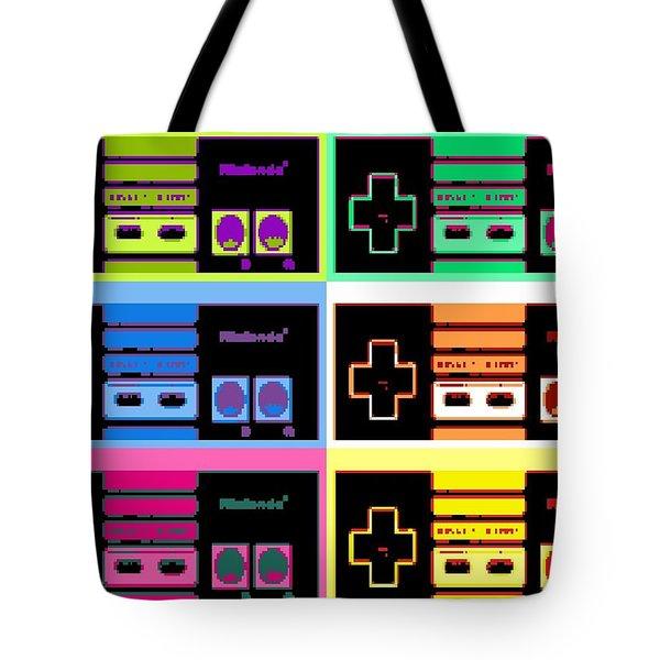Nes Pop Tote Bag by Paul Van Scott
