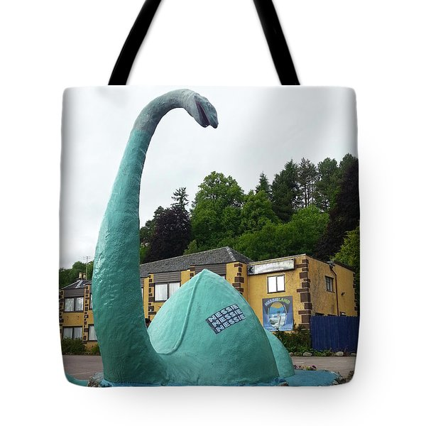 Nessie The Loch Ness Monster Tote Bag