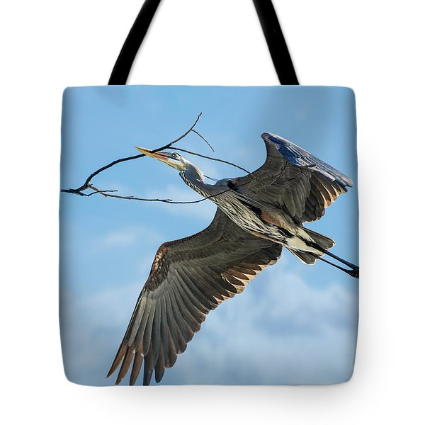 Nest Builder Tote Bag