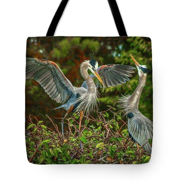Nest Landing Tote Bag