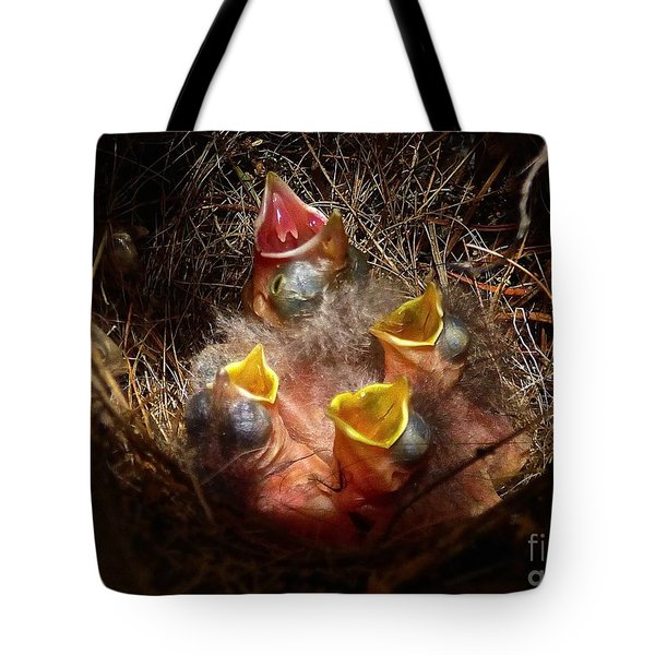 Nest With Brood Parasite Tote Bag