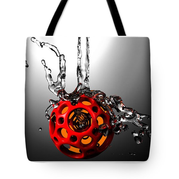 Nested Dodecahedron 001 Tote Bag
