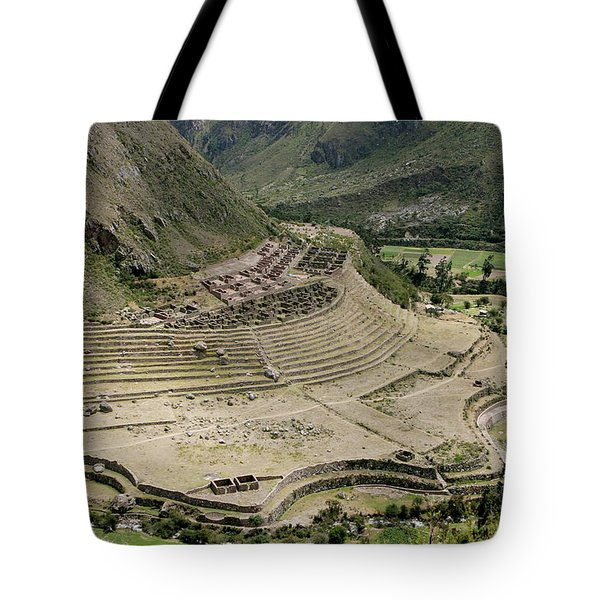 Nestled At The Foot Of A Mountain Tote Bag