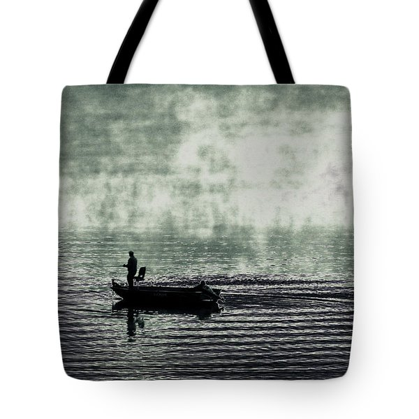Netherworld Lake Tote Bag by Steven Huszar
