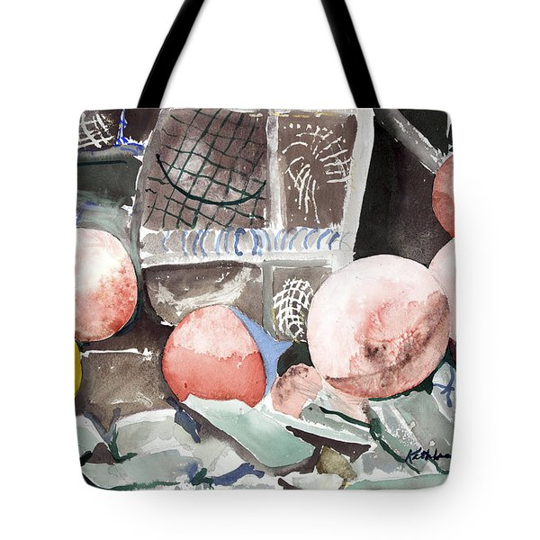 Nets And Floats Tote Bag