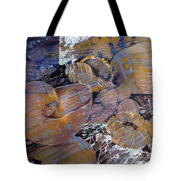 Tote Bag featuring the painting Netted by Rae Andrews