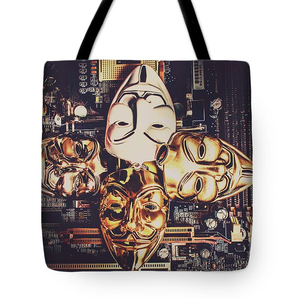 Network Of Anons Tote Bag