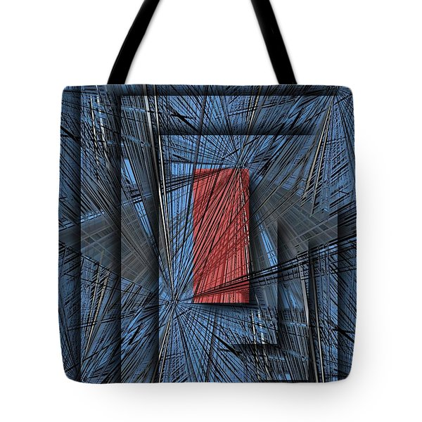 Networking Tote Bag by Tim Allen