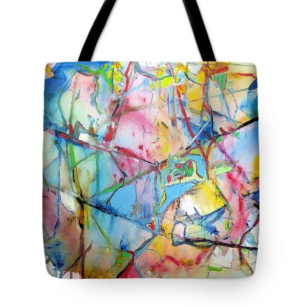 Neuro Roads Tote Bag