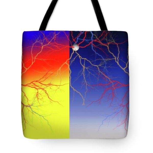 Neuron X2x Cluster Tote Bag