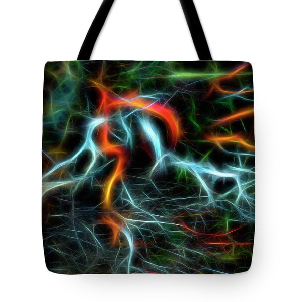 Neurons On Fire Tote Bag