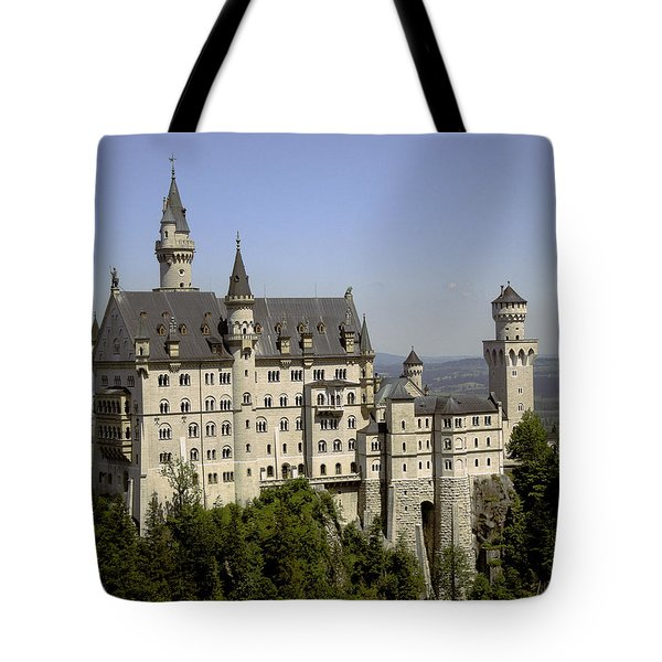 Neuschwanstein Castle Tote Bag by Don Wright