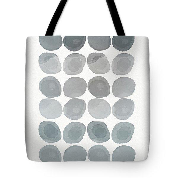 Neutral Stones- Art By Linda Woods Tote Bag by Linda Woods
