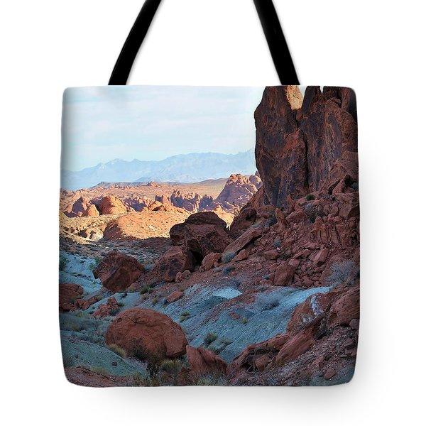 Nevada Rocks 11 Tote Bag