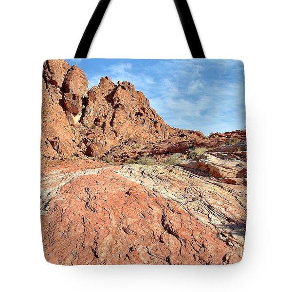 Nevada Rocks 26 Tote Bag