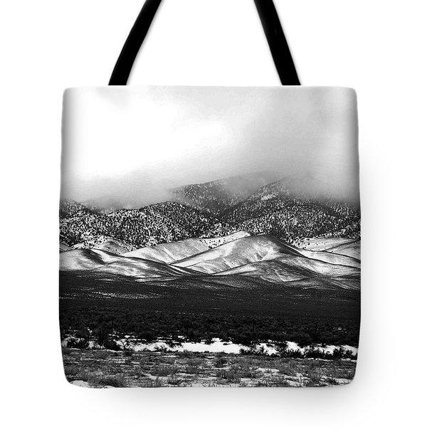 Nevada Snow Tote Bag