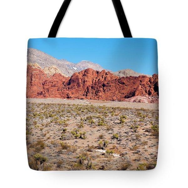 Nevada's Red Rocks Tote Bag by Rae Tucker
