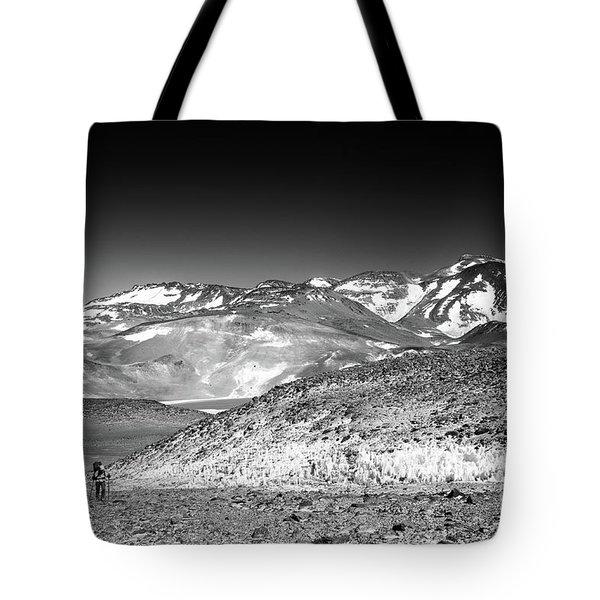 Nevado Ojos Del Salado Tote Bag