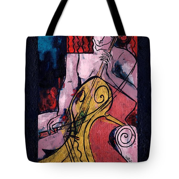 Never Alone Tote Bag by Elisabeta Hermann