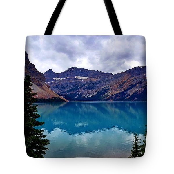 Bow Lake, Banff, Ab  Tote Bag
