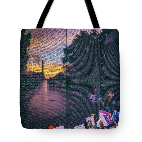 Tote Bag featuring the photograph Never Forget by Edward Kreis